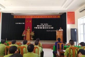 Ban Quản lý VQG Phong Nha – Kẻ Bàng tổ chức tập huấn cho lực lượng thực thi pháp luật năm 2020